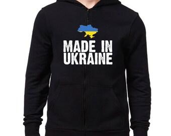Made in Ukraine Zip Hoodie