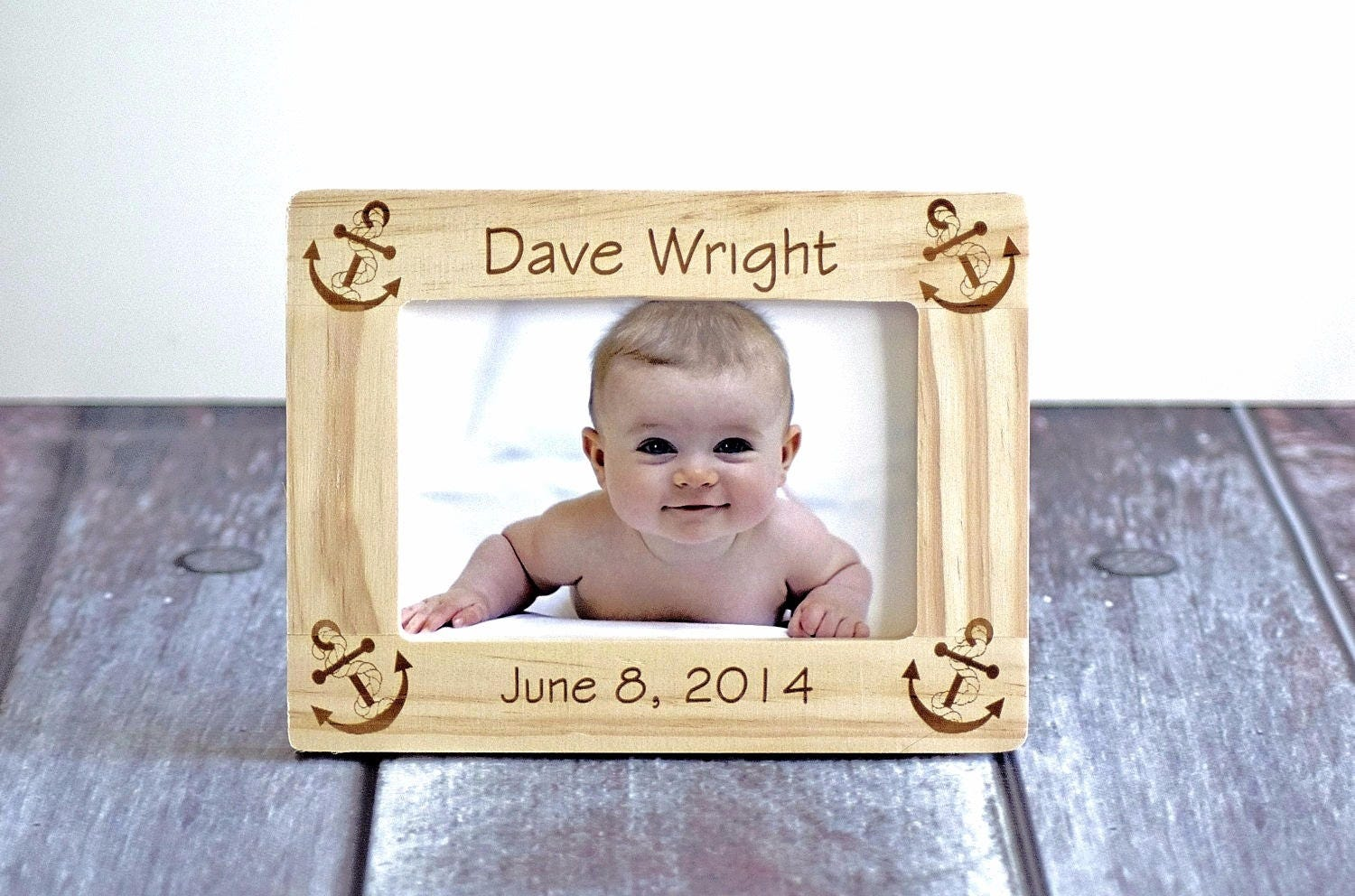 Baby picture frame newborn picture frames gift for parents zoom jeuxipadfo Images