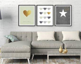 living room wall art etsy rh etsy com living room wall art wall art for living room pinterest