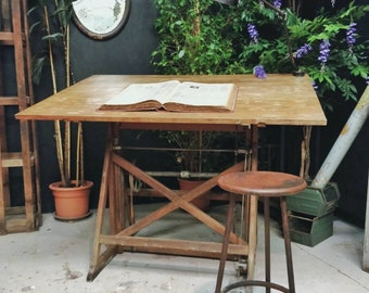 Table by drafting