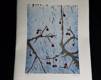 Spring thaw (Multi-colored print)