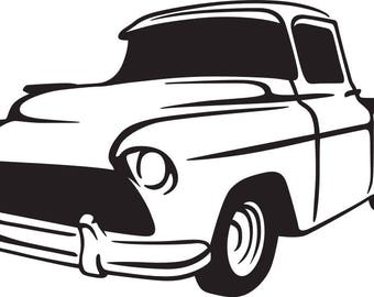 Low Rider Truck SVG FILE
