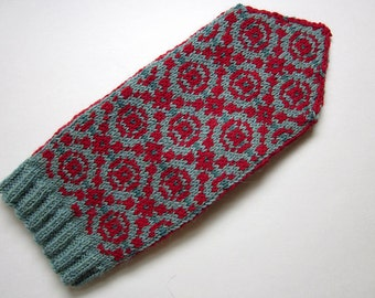 PDF Knitting pattern: Persnickety Mittens