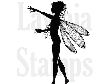 Lavinia Stamps Clear Rubber Stamp - Freya