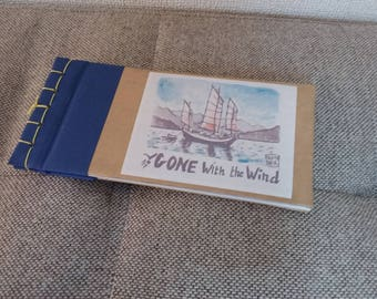 Carnet de notes, travelogue Gone with the wind