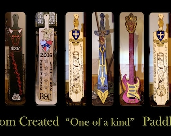 fraternity paddles, big brother gift, frat paddle, custom fraternity paddles,sorority paddles, bis sister gift