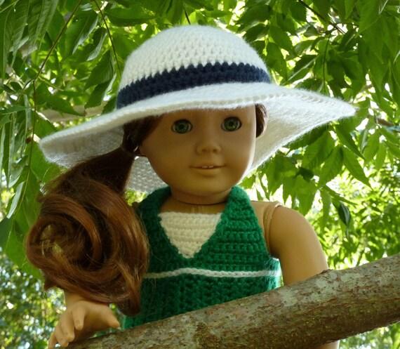 Patrón de ganchillo - PDF de ala ancha sombrero para el sol - para ...