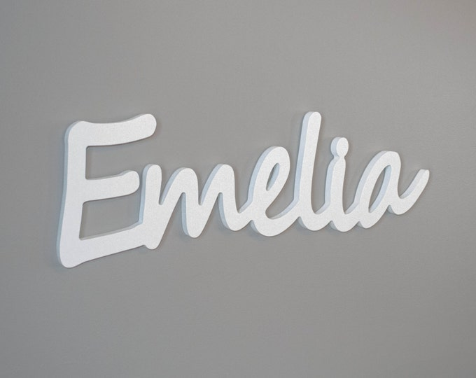 Custom wall names for nursery decor or childs bedroom. kids personalized name signs
