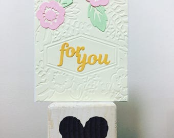 For You - All Occasions Card with Blank Inside