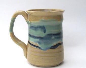 Stoneware Coffee Mug - Rio Grande Glaze Variation