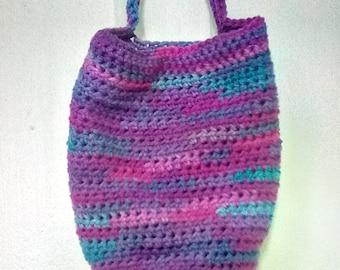 Crocheted Grape Fizz Catchall