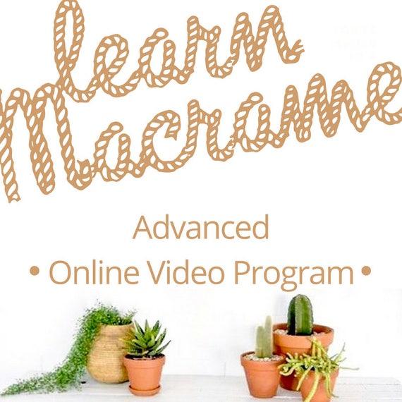 MACRAME TUTORIALS Advanced Membership  for Video Tutorials