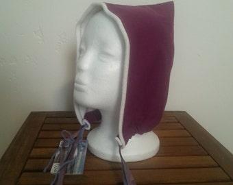 Winter pixi bonnet