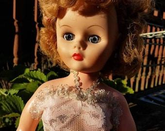 Unknown Vintage Doll 50's for restoration