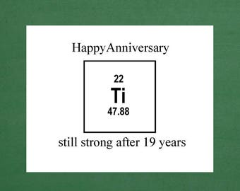 19th anniversary, 19th anniversary card, 19th anniversary gift, happy 19th anniversary, 19th wedding, 19th anniversary for him, 19 years