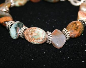 HASSINI Jasper and Sterling Bracelet
