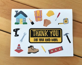 DRC Thank You Card - Disaster Relief Thank You Card