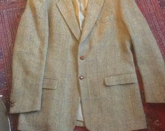 Man's vintage Harris tweed jacket