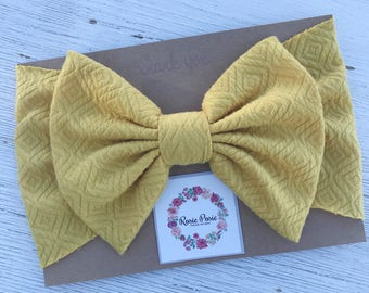 Mellow Yellow Headwrap