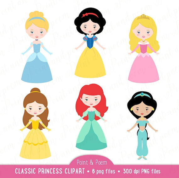 princess clip art fairytale princess clipart little princess png rh etsystudio com princess clip art for kids princess clipart software