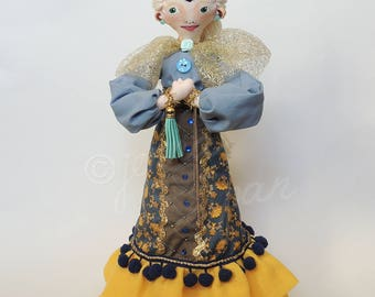 Princess Mia (Handmade and one of a kind doll)