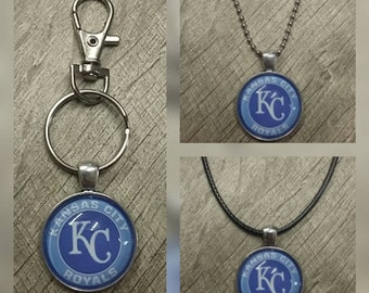 Kansas City Royals key chain or necklace