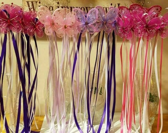 Handmade fairy wands
