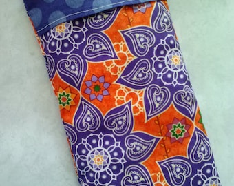 Yoga eye pillow, lavender and flax seed, aromatherapy, relaxation pillow, scented pillow, yoga accessories, yoga gifts, yogi gifts