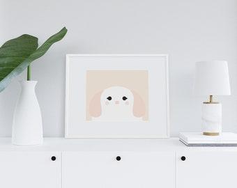 Doxie Art Print