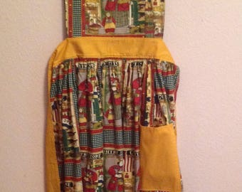 Handcrafted Country Store Apron