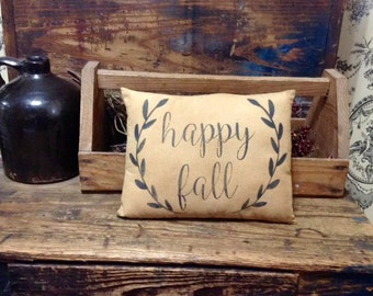 Happy Fall Pillow