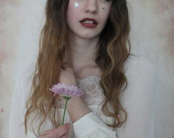 Lilac mini rose hairband,  summer flower crown, rose headband