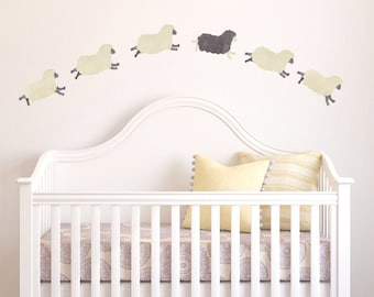 Sheep Wall Decals - Sheep Fabric Wall Decals