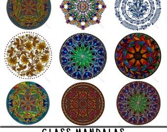 Mandala Clipart, Mandala Clip Art, Clipart Mandala, Clip Art Mandala, Mandala PNG, PNG Mandala, Mandalas Clipart, Glass Mandalas