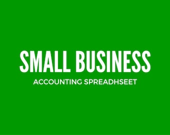 Small Business Bookkeeping Spreadsheet - UnLocked