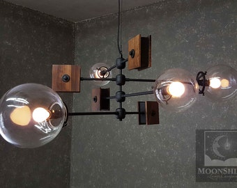 The Continental - Midcentury Modern Classic Chandelier
