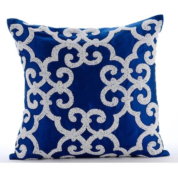 blue decorative pillows | Decoration For Home