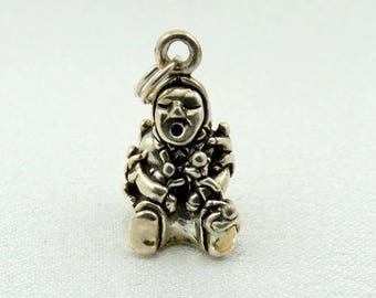 Old Mother Hubbard Vintage Solid Sterling Charm FREE SHIPPING!  #HUBBARD-CM1