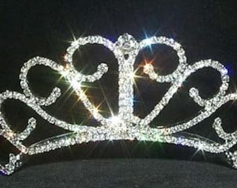 Style # 12050 - Raised Princess Tiara