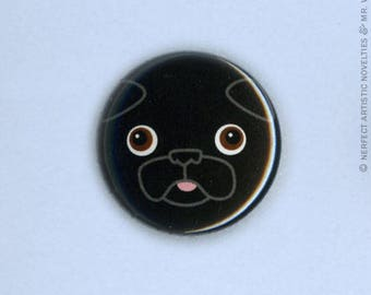 "Buddy Face 1"" Pin-Back Button"