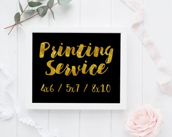 Professional Printing Service for any DarbiDesigns Product