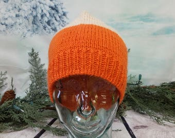 Orange wool hat