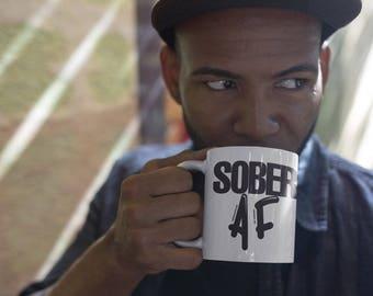 Sober AF Coffee mug