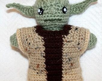 Mini Yoda Amigurumi