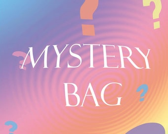 MYSTERY BAG Press On Nails | 5 Sets of Short Press On Nails | Extra Small Nails | Nail Grab Bag | Teen or Tween Gift | Glue On Fake Nails