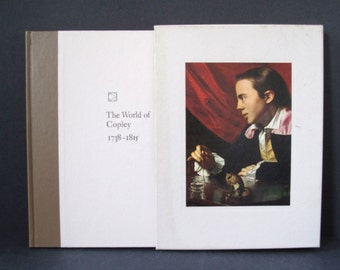 The World of Copley Art Book 1st Printing