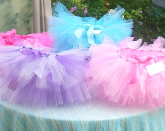 Girls' Tutu Party - 8 Childrens' Tutus - Tutu Party Pack - Any Color