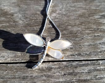 Sale shell dragonfly necklace