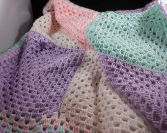 Baby Blanket - Crocheted