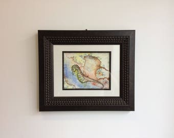 The Sultry Seahorse (Limited Edition Archival Fine Art Giclee Print) - Frame is not included